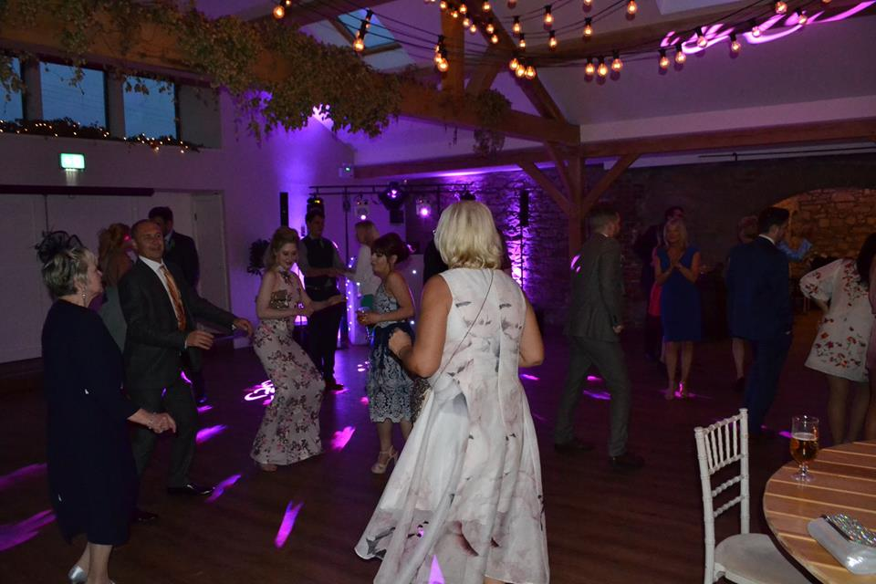 Wedding DJ | Disco Doxford Barn Alnwick
