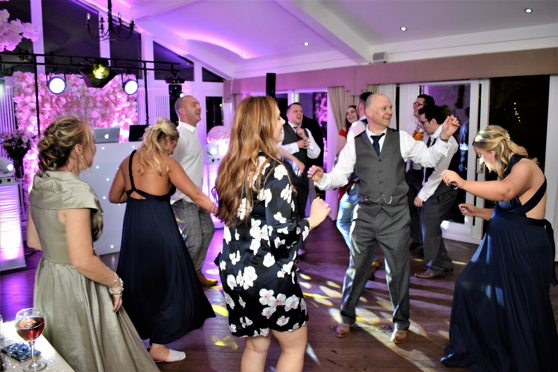 Wedding Reception Disco Horton Grange Northumberland