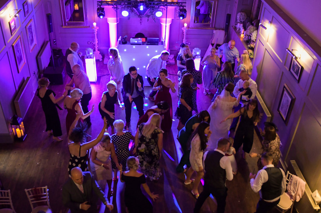 Wedding DJ Ellingham Hall Northumberland