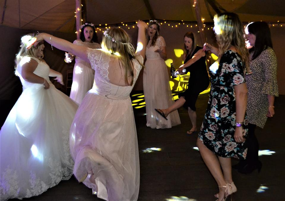 Wedding Disco at Woodhill Hall Otterburn