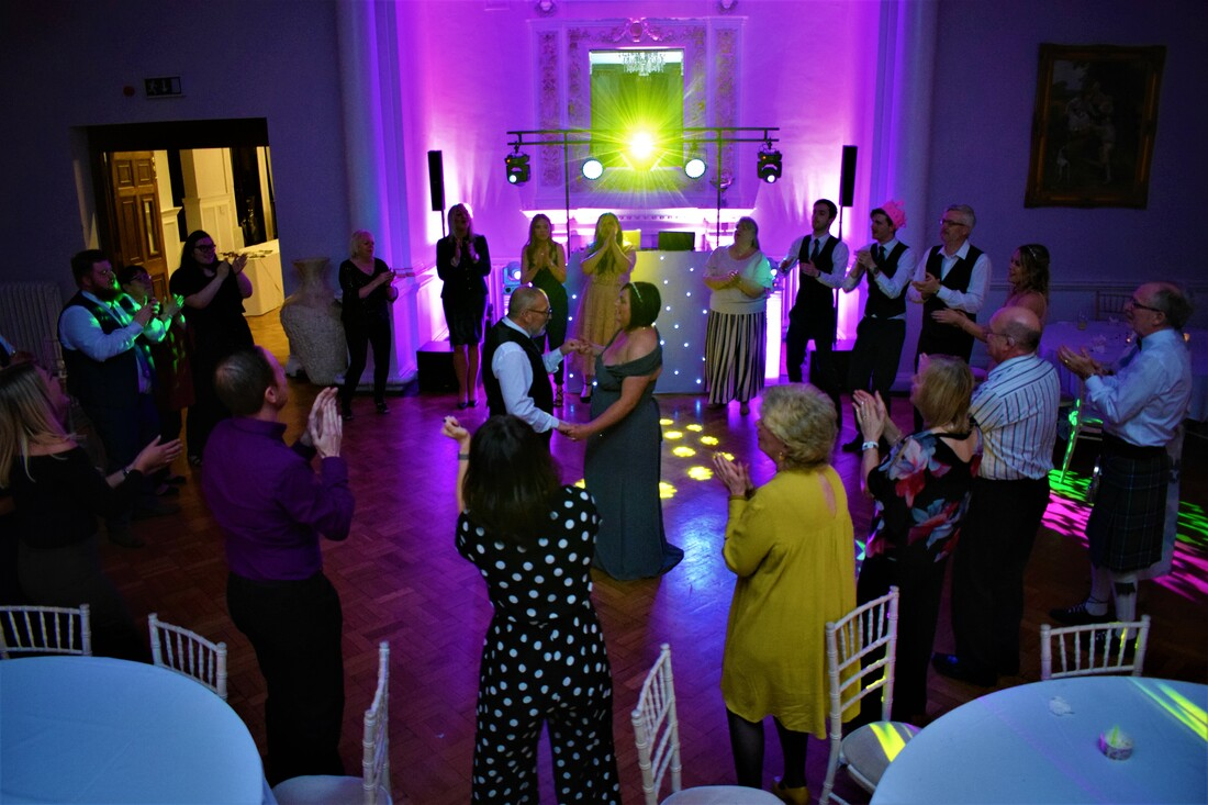 Wedding Disco Beamish Hall County Durham