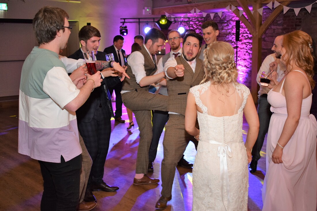 Wedding Disco Doxford Barns Alnwick
