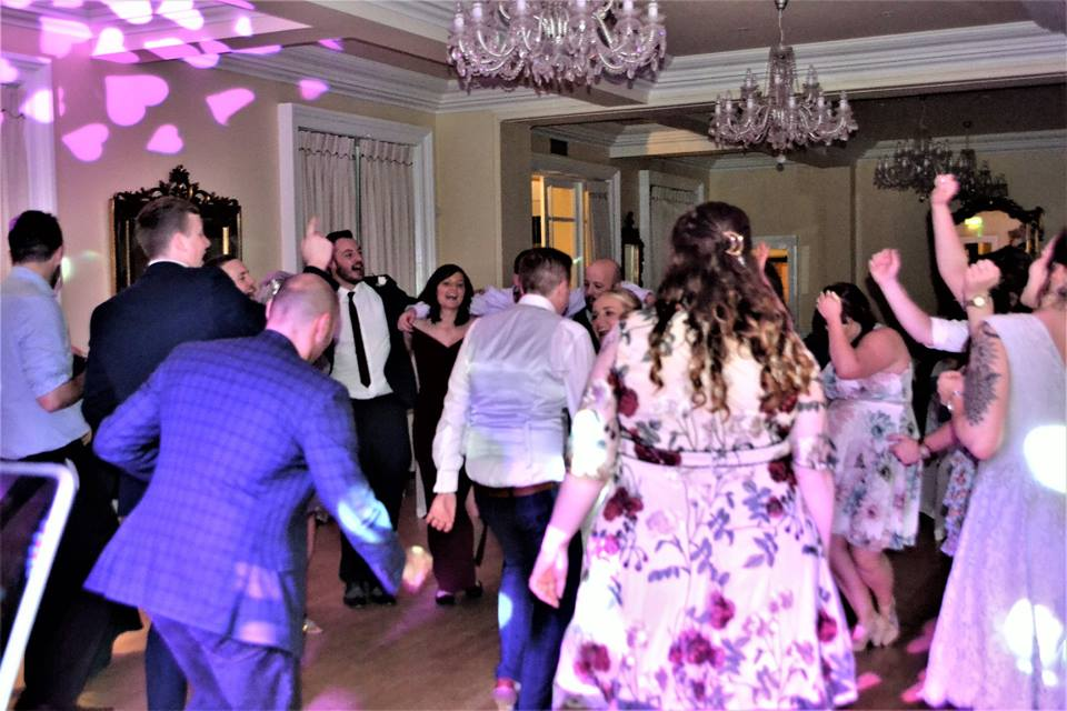Wedding DJ | Disco Eshott Hall Northumberland