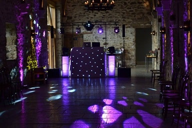 Wedding DJ Healey Barn, Northumberland