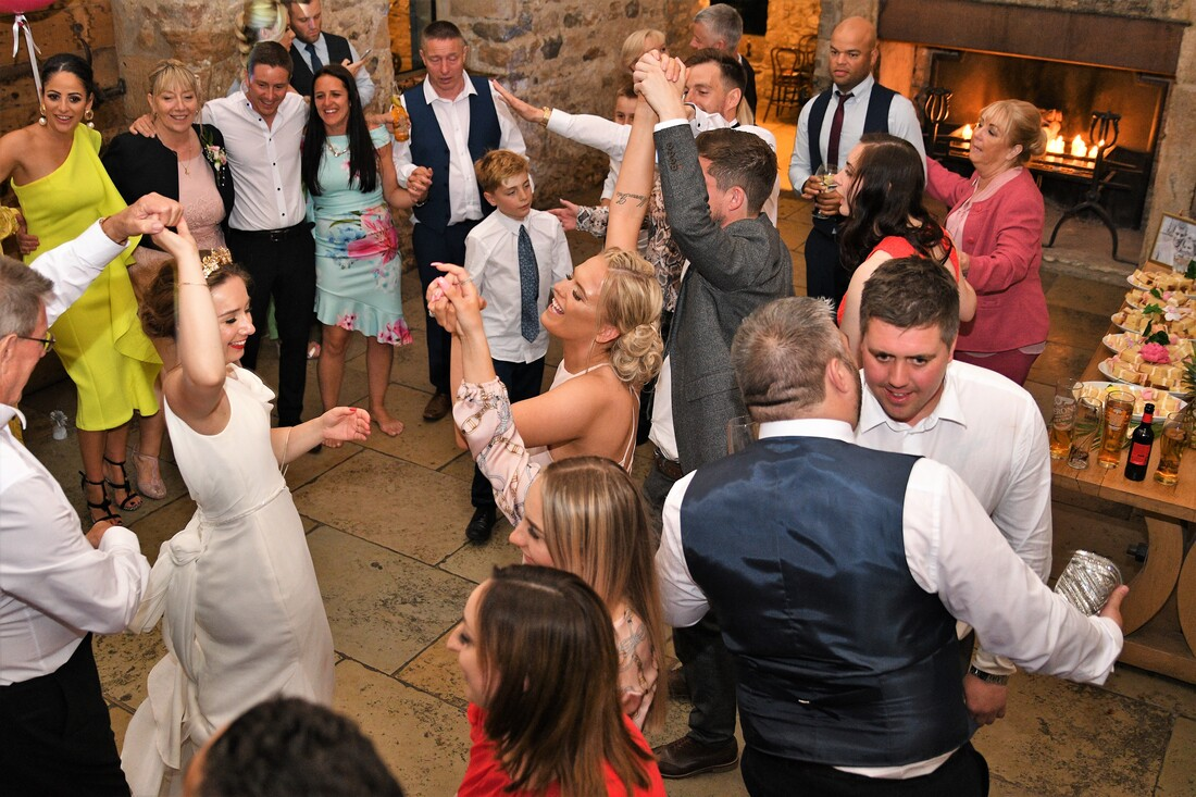 Wedding Disco, Healey Barn