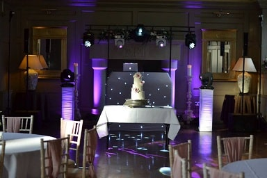 Wedding DJ Disco Ellingham Hall, Alnwick Northumberland