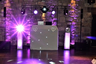 Wedding DJ Disco Newton Hall in Alnwick Northumberland
