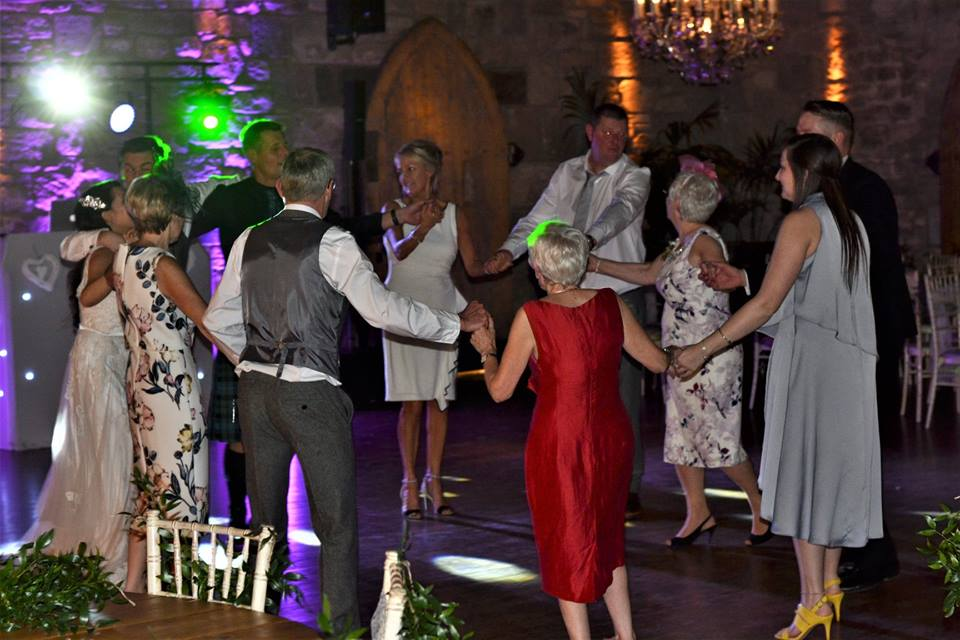 Wedding DJ Newton Hall Northumberland