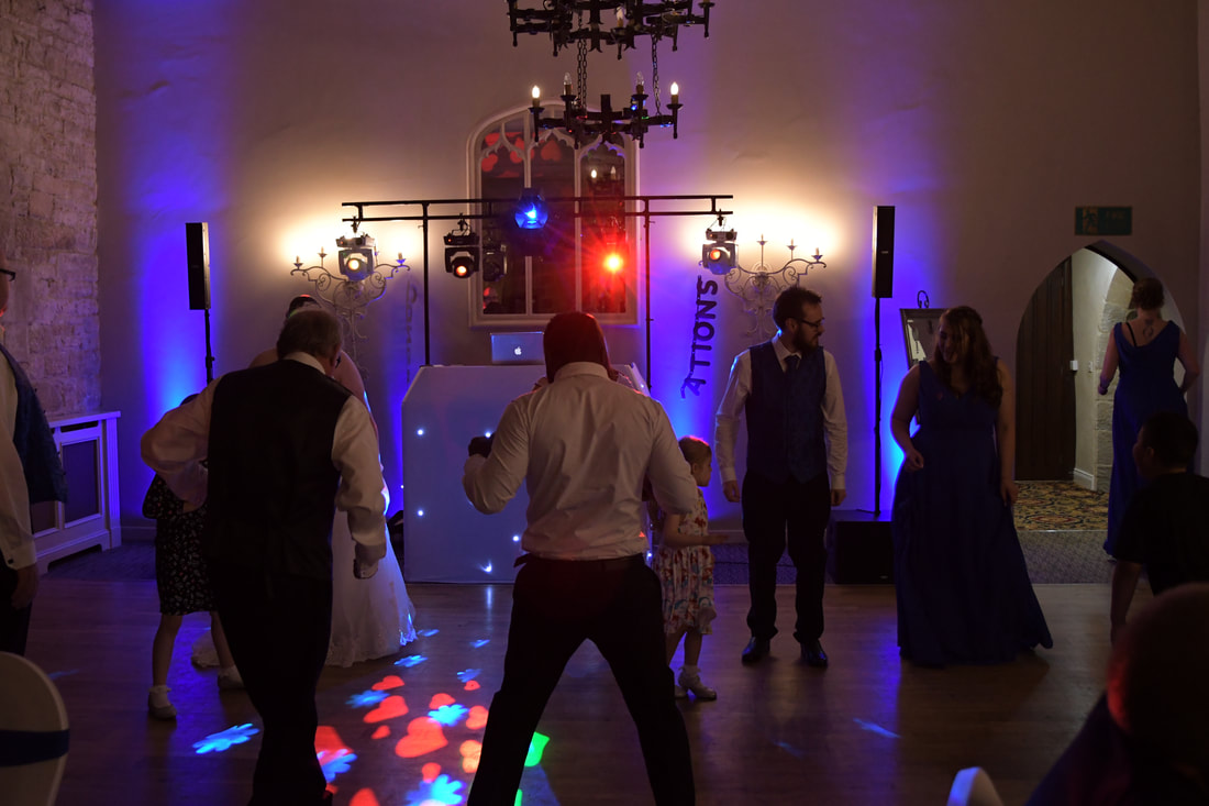 Wedding Disco Langley Castle Northumberland